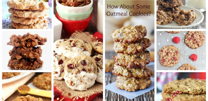 Oatmeal Cookie Collage Text