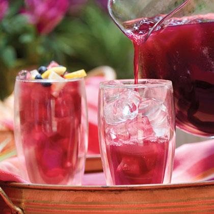 blueberry lemon ice tea