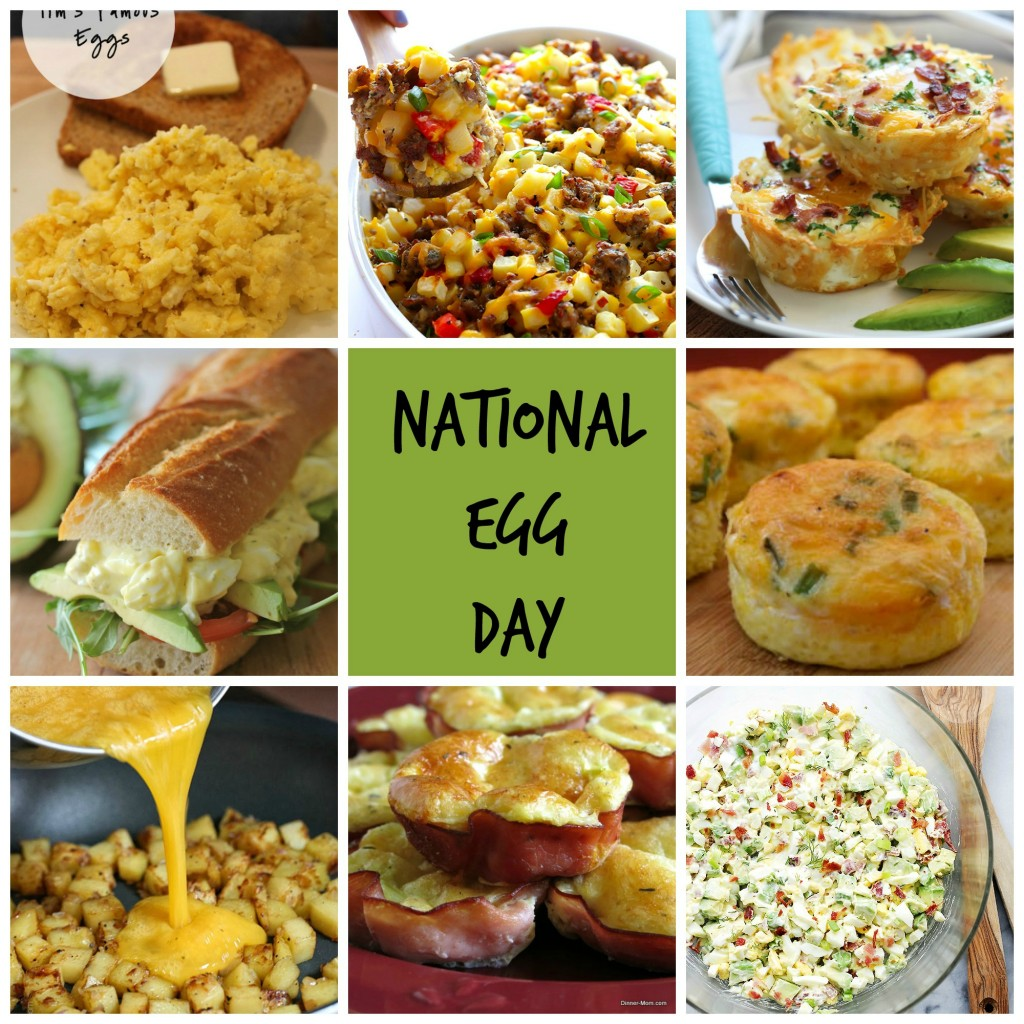 Naitonal Egg Day Collage