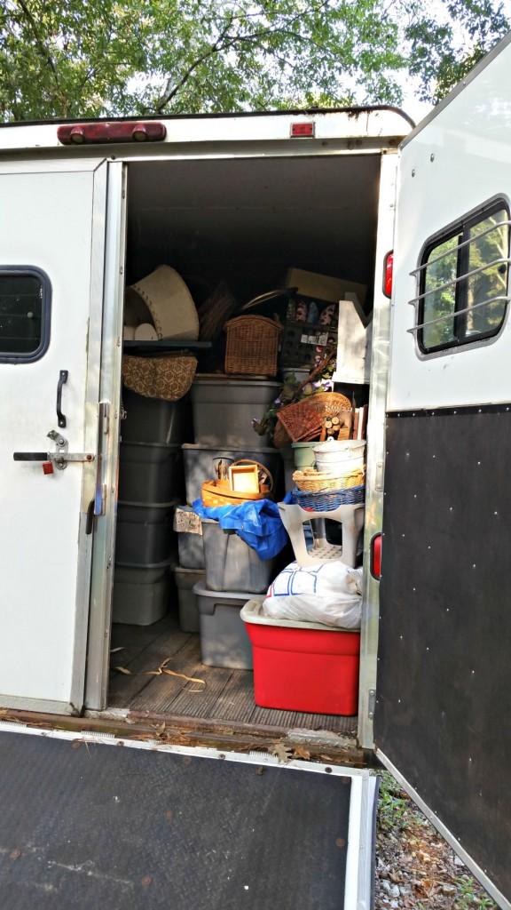 back of trailer