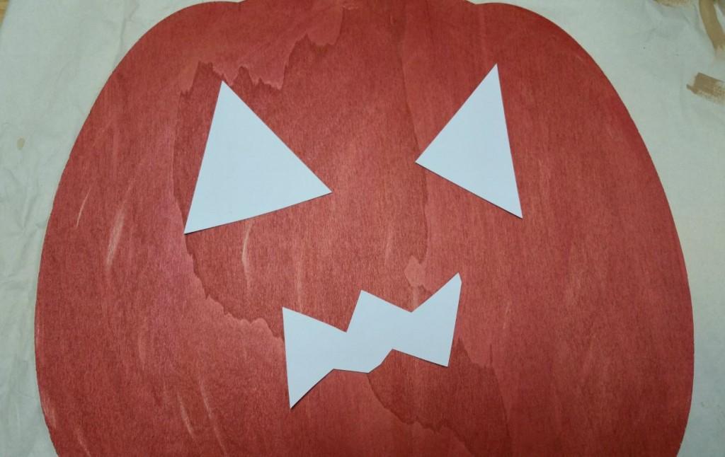 face template pumpkin