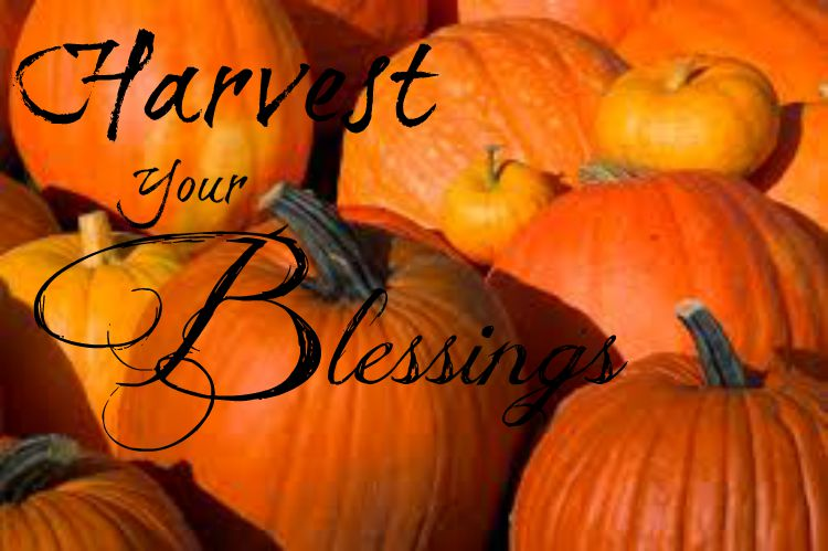 harvest your blessings